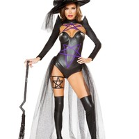 2pc Dark Witch Costume