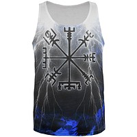 Vegvisir Nordic Viking Storm Compass All Over Mens Tank Top