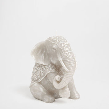 Seated Elephant Candle - Candles - Decor and pillows   Zara Home United States