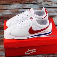 Free shipping: Nike Classic Cortez simple men's and women's versatile sneakers shoes