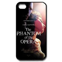 Musical Phantom of the Opera Custom Case Cover for Iphone 4 4s 4g - Color Case - 1311467