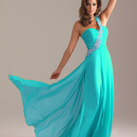 2012 Simple Empire One Shoulder Neck Brush Appliques Prom Dresses Style 6491,Most Popular Prom Dresses