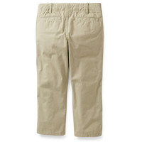 Flat Front Casual Pants