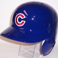 Chicago Cubs Official CCPBHSL MLB Full Size Authentic Batting Helmet Left Flap