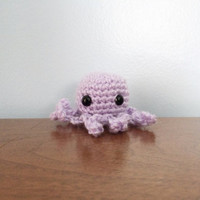 Jellyfish Amigurumi Plush - Crochet Amigurumi - Kawaii Animals - Amigurumi Animals - Jellyfish Plush Toy - Crochet Octopus - Mini Animals