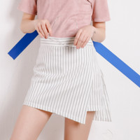 Vertical Stripe Skirt from hhotaru