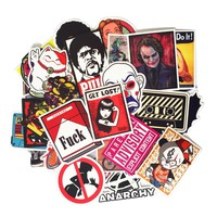 Hot Fashion  Mixed 50 pcs stickers for kids Home decor on laptop sticke stickers
