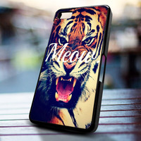 Tiger meow design for iPhone 4/4s, Iphone 5, Samsung Galaxy S3, Samsung S4, Blackberry Z10, Ipod 4 & Ipod 5 from stevaz store