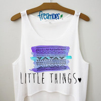 little things crop top