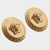 Versace Tribute Medusa Stud Earrings for Women | US Online Store