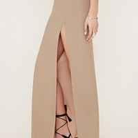 High-Slit Maxi Skirt | Forever 21 - 2000153919