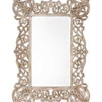 Copperwood Mirror by Anthropologie in Antique Copper Size: One Size Wall Decor