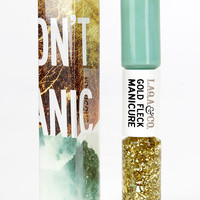 LAQA & Co. Lacey Mint Gold Fleck Manicure Duo