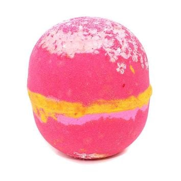 Raspberry Lemonade Sea salt  Bath Bomb