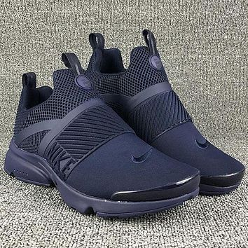 Nike Air Presto Popular Women Men Casual Running Sport Sneakers Shoes Dark Blue I