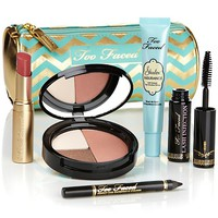 Too Faced All I Want for Christmas Set and Makeup Bag at HSN.com