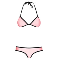 Pink Orange Green Blue White Black Sexy Bikini Swim Suit Beach Bathing Suits_ 622