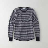 DROPTAIL CREW NECK SWEATER