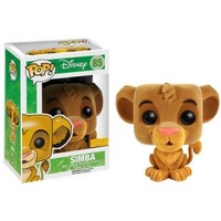 Disney Lion King Flocked Simba Pop! Vinyl Figure : Forbidden Planet