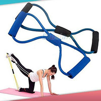 1 pc Resistance Training Bands Tube Workout Exercise for Yoga Fashion Body Building Fitness Equipment Too(random color) = 5616997057