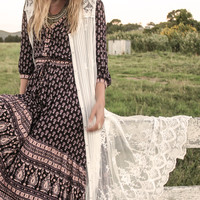 Gypsiana Maxi Dress - Pepper