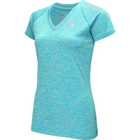 UNDER ARMOUR Women's Twisted Tech Short-Sleeve V-Neck T-Shirt