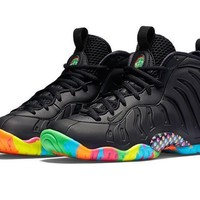 Lil Foamposite One Black Fruity Pebbles