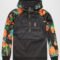 Neff Vapay Mens Hoodie Black  In Sizes