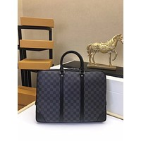 LV Louis Vuitton DAMIER CANVAS ePorte-Documents Jour BRIEFCASE BAG CROSS BODY BAG