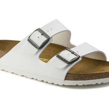 Arizona White Birko-Flor | shop online at BIRKENSTOCK