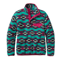 Patagonia Women's Lightweight Synchilla Snap-T Fleece Pullover | Outdoorplay.com