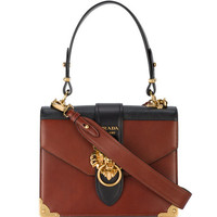 Prada Animalier Lion Head Shoulder Bag - Farfetch