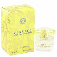 Versace Yellow Diamond by Versace Mini EDT .17 oz for Women