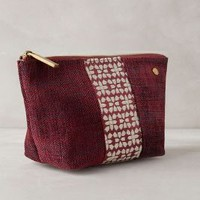 Deux Lux Midou Cosmetic Case in Wine Size: One Size Accessories