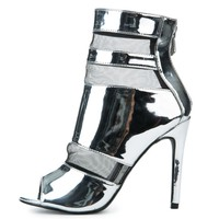Women's Lola-12 High Heel in Silver