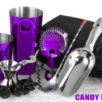 Complete Bartenders Tote - Candy Purple