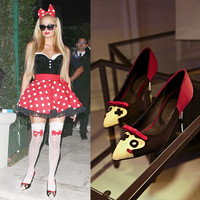 Stylish Anime Pointed Toe Shoes [4920520644]