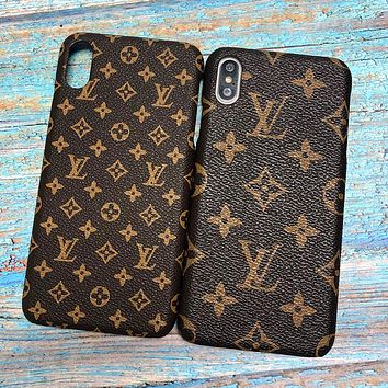LV Louis Vuitton iPhone Phone Cover Case For iphone 6 6s 6plus 6s-plus 7 7plus iPhone X XR XS XS MAX