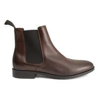 Leather Chelsea Boots - from H&M