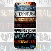 Supernatural,Supernatural,Supernatural.....Phone Case For iPhone 7 7Plus 6 6s Plus 5 5s SE