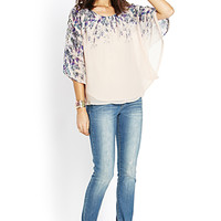 Wandering Whimsy Flutter Top