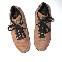 vintage Reebok sneakers 80s 90s brown leather reebok hiking shoes size 9.5