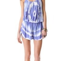 Young Fabulous & Broke Bunnie Rio Wash Romper | SHOPBOP