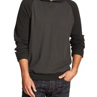 Banana Republic Mens Factory Colorblock Pullover Hoodie