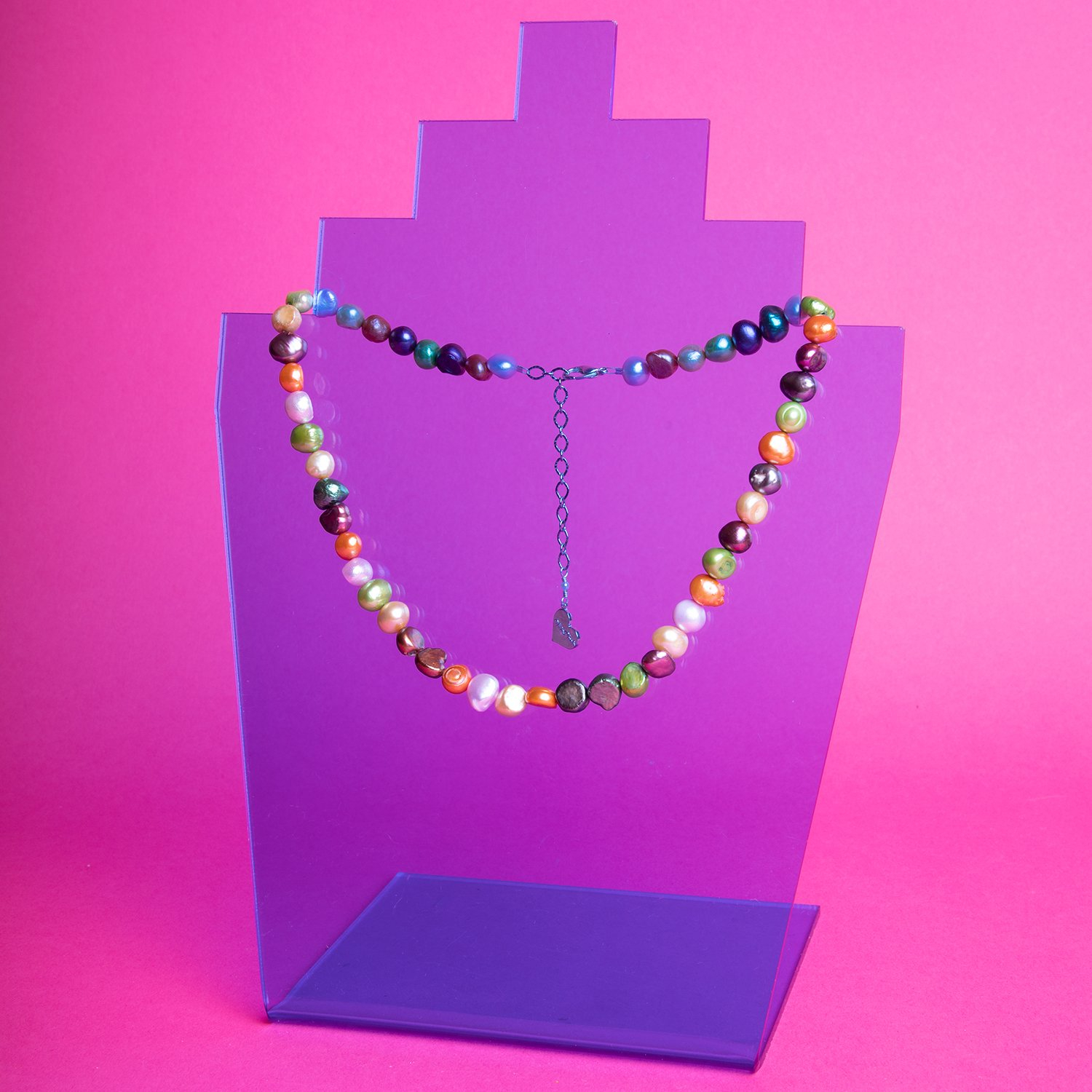 Image of Multicolor Pearl Necklace