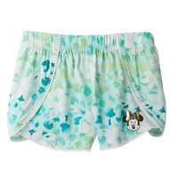 Disney's Minnie Mouse Floral Cheetah Petal Shorts by Jumping Beans - Girls