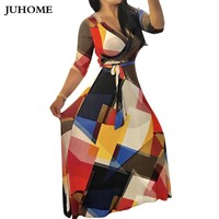 3xl large size boho clothing hippie bohemian maxi dress for fat plus size fashionable tunic printed dress sexy robe long dresses