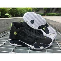 Air Jordan 14 ¡°Indiglo¡± AJ14 Nike Basketball shoes
