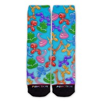 Function - Balloon Animal Pattern Fashion Sock