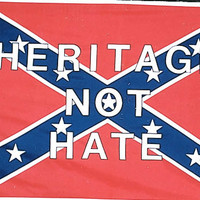 Heritage Not Hate Rebel Flag